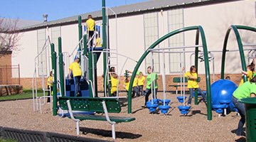Pearce outdoor playground